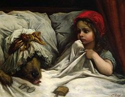 Chapeuzinho Vermelho por Gustave Doré