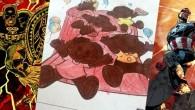 O Afrofuturismo de John Jennings e Stacey Robinson, criadores do projeto Black Kirby, que reimagina persoagens da Marvel como pessoas negras, ressoa na atitude de Cleidison, que pintou a Turma da Mônica com a cor da sua pele, e ambas as atitudes apontam para um futuro de mais representatividade nos quadrinhos