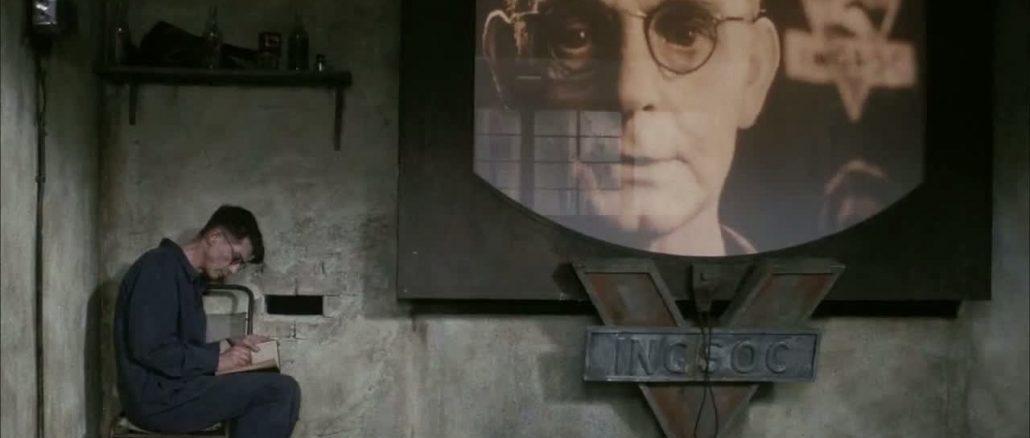John Hurt a versão cinematográfica de 1984 (1984)