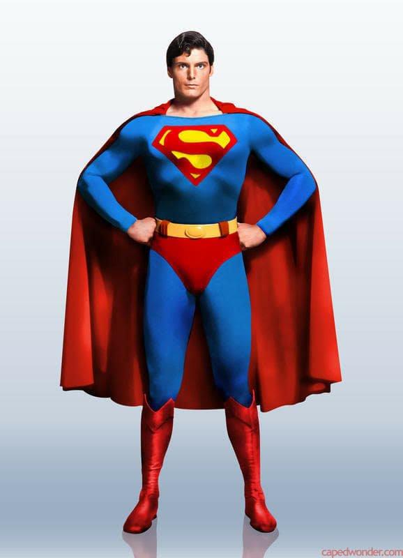 Christopher Reeve como Super-Homem