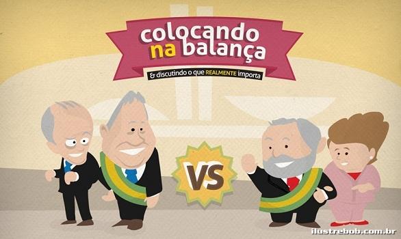 Colocando na Balança - ilustrebob.com.br