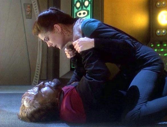 Worf e Jadzia