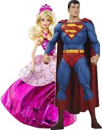 A princesa e o super-herói