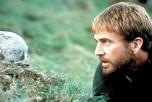 Mel Gibson como Hamlet