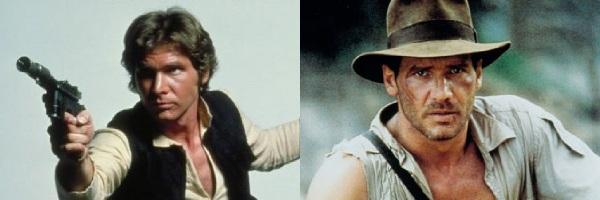 Han Solo e Indiana Jones