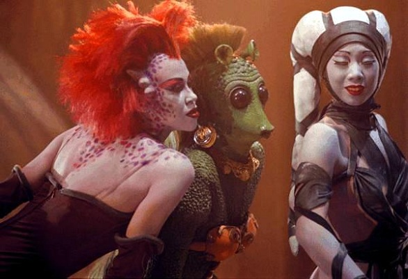 Dançarinas do Palácio de Jabba