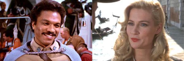 Lando Calrissian e Elsa Schneider