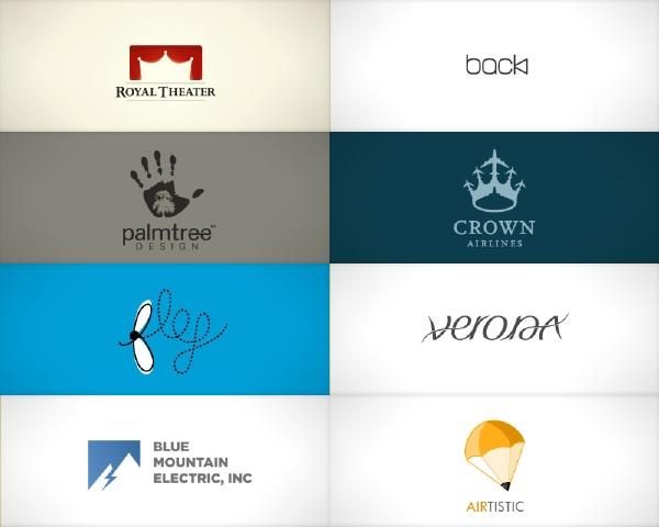 Logos criativas e inspiradoras