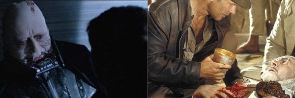 Luke salva Darth Vader e Indiana salva Henry Jones