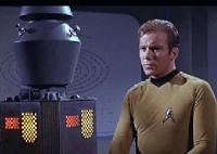 A sonda Nomad e capitão Kirk